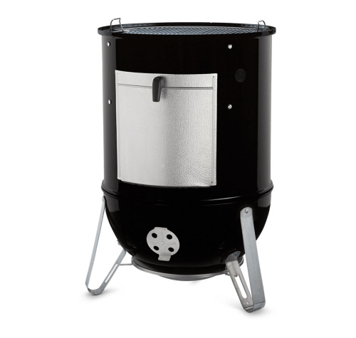 Коптильня Smokey Mounaine Cooker Ø 57 см состоит из 3-х сегментов. Топка, центральный сегмент и крышка